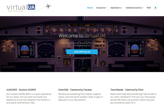 "Flying for Virtual United Airlines ""VirtualUA"""