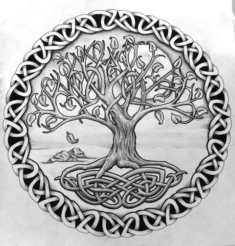 Norse Tree Of Life Tattoo Designs Tattos For Men