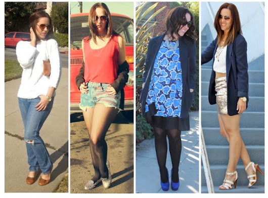 What I Wore: A Look Back at 2013
