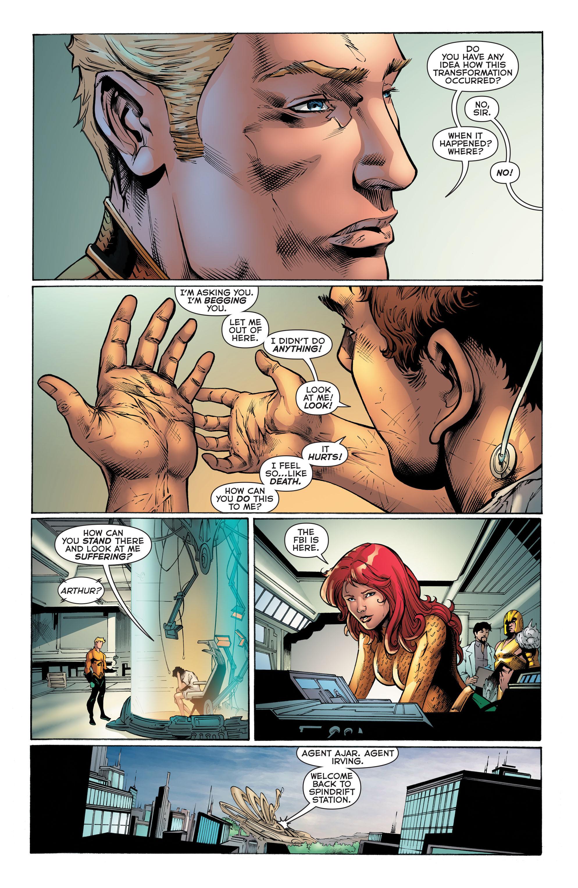 Read online Aquaman (2011) comic -  Issue #51 - 10