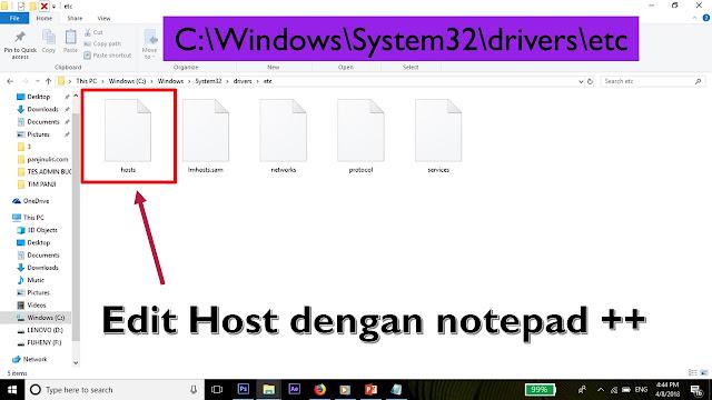 Edit Host
