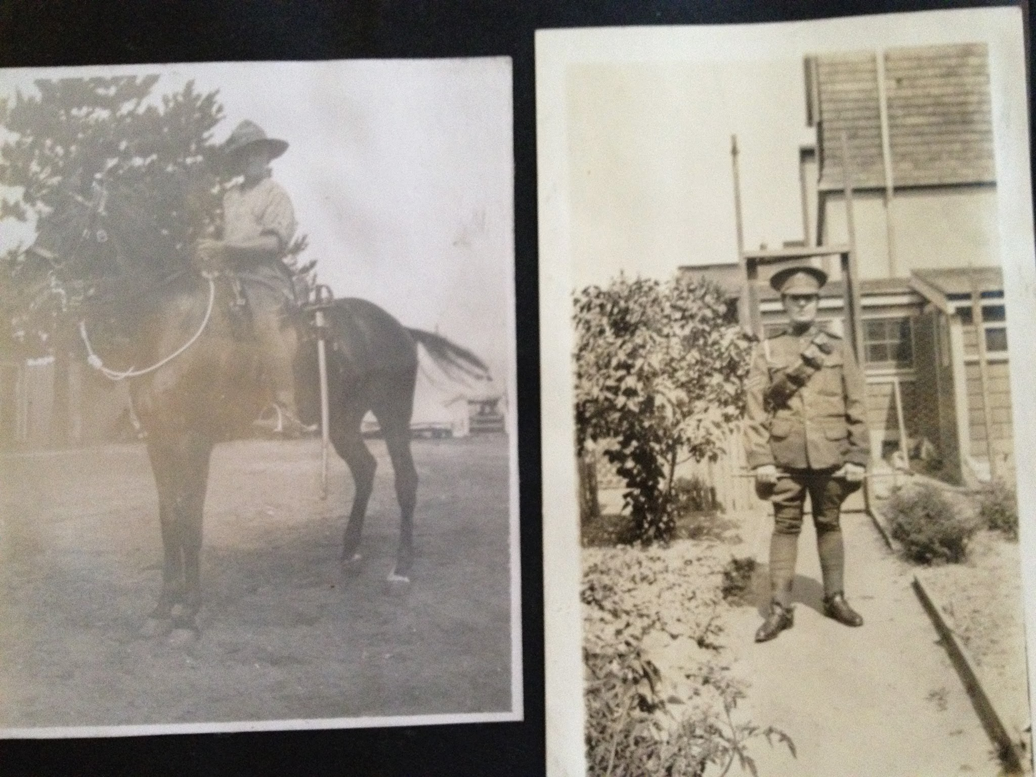 WW1 Photo Album: Page 15 Canadian Soldiers in the CEF