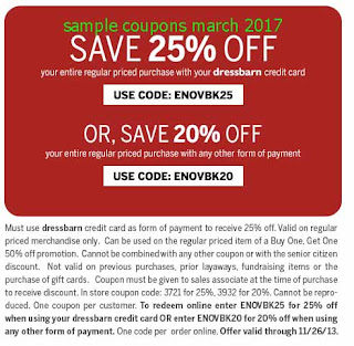 Dress Barn coupons for march 2017