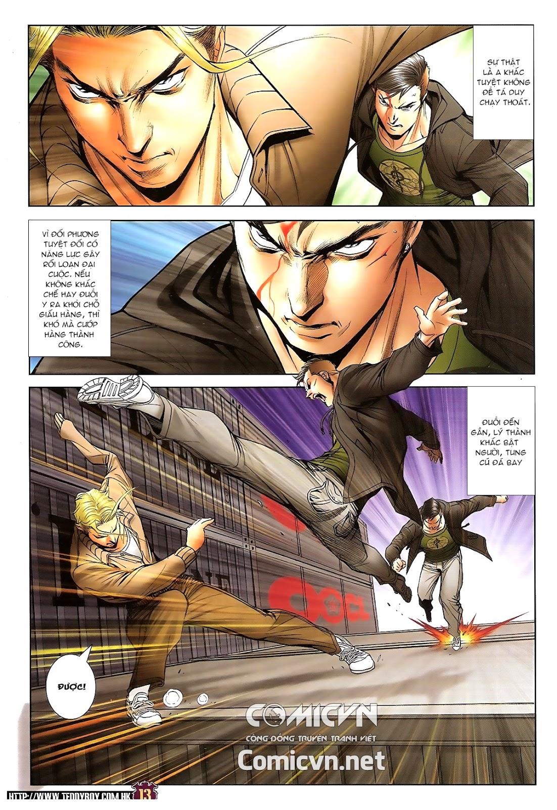 Người Trong Giang Hồ chapter 1673: tắm máu lưu phù sơn trang 11