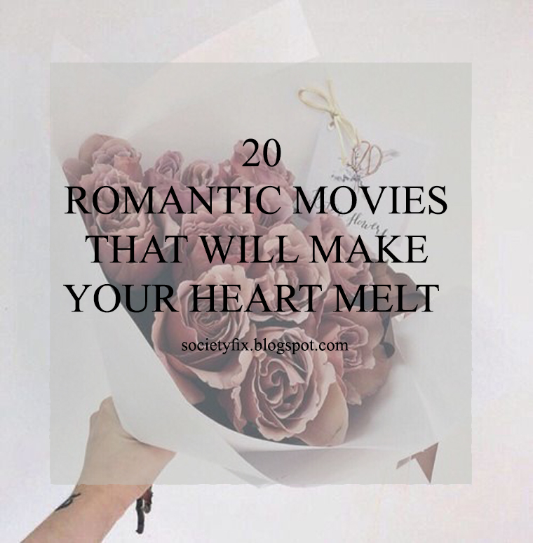 I decided to actually make a list of the movies that made my heart melt and to return to every time I am in this I love romance mood, but then I said, why I don't share it my readers, maybe they will find it helpful and these movies up their mood and make them fly between the clouds and higher to the stars. I hope you like it and maybe watch a movie or two from it and maybe they will make you so happy.