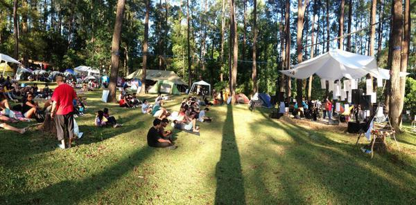 Camping Alam Terbuka