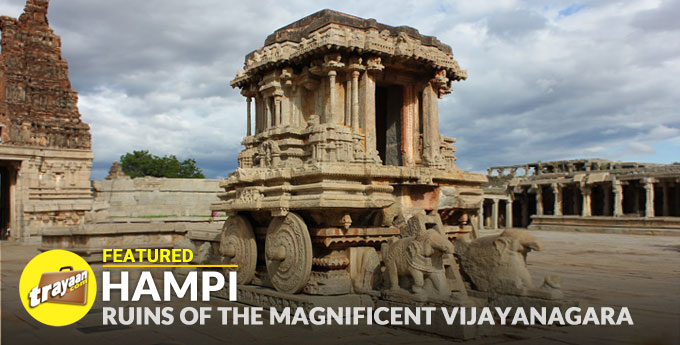 Featured Series - World Heritage Site Hampi, Ruins of the magnificent Vijayanagara