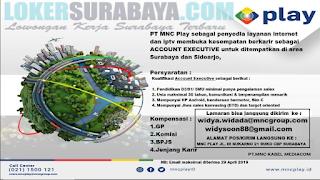 Lowongan Kerja di PT. MNC Kabel Mediacom (MNC PLAY) Surabaya Terbaru April 2019