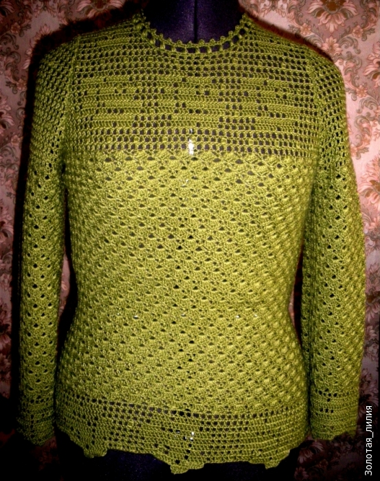 Ideas para el hogar: Suéter / Patrones / Puntos básicos