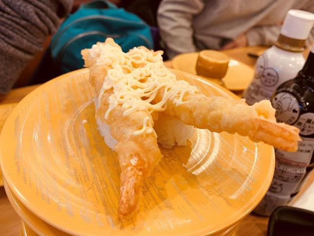 炸蝦天婦羅握壽司