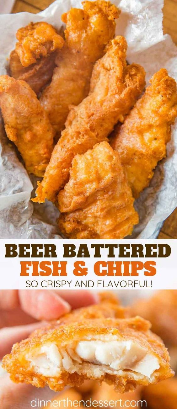 Beer Battered Fish