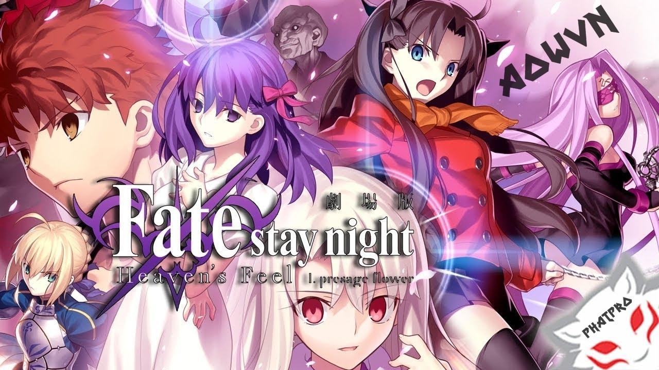 FHF%2B %2BPhatpro min - [ Anime 3gp Mp4 ] Fate/Stay Night Movie : Heaven's Feel 1 BD - I. Presage Flower | Vietsub - Siêu Phẩm Cực Hay!