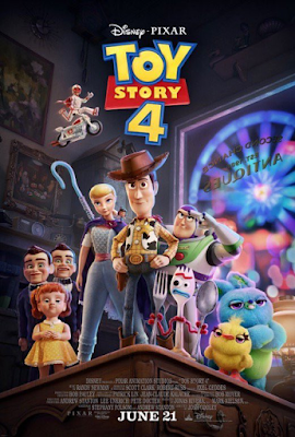 'Toy Story 4' Filme Poster