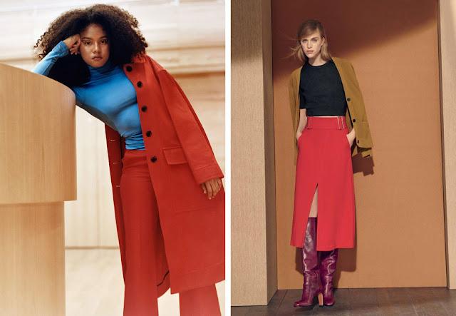 Красный + голубой и желтый в одежде