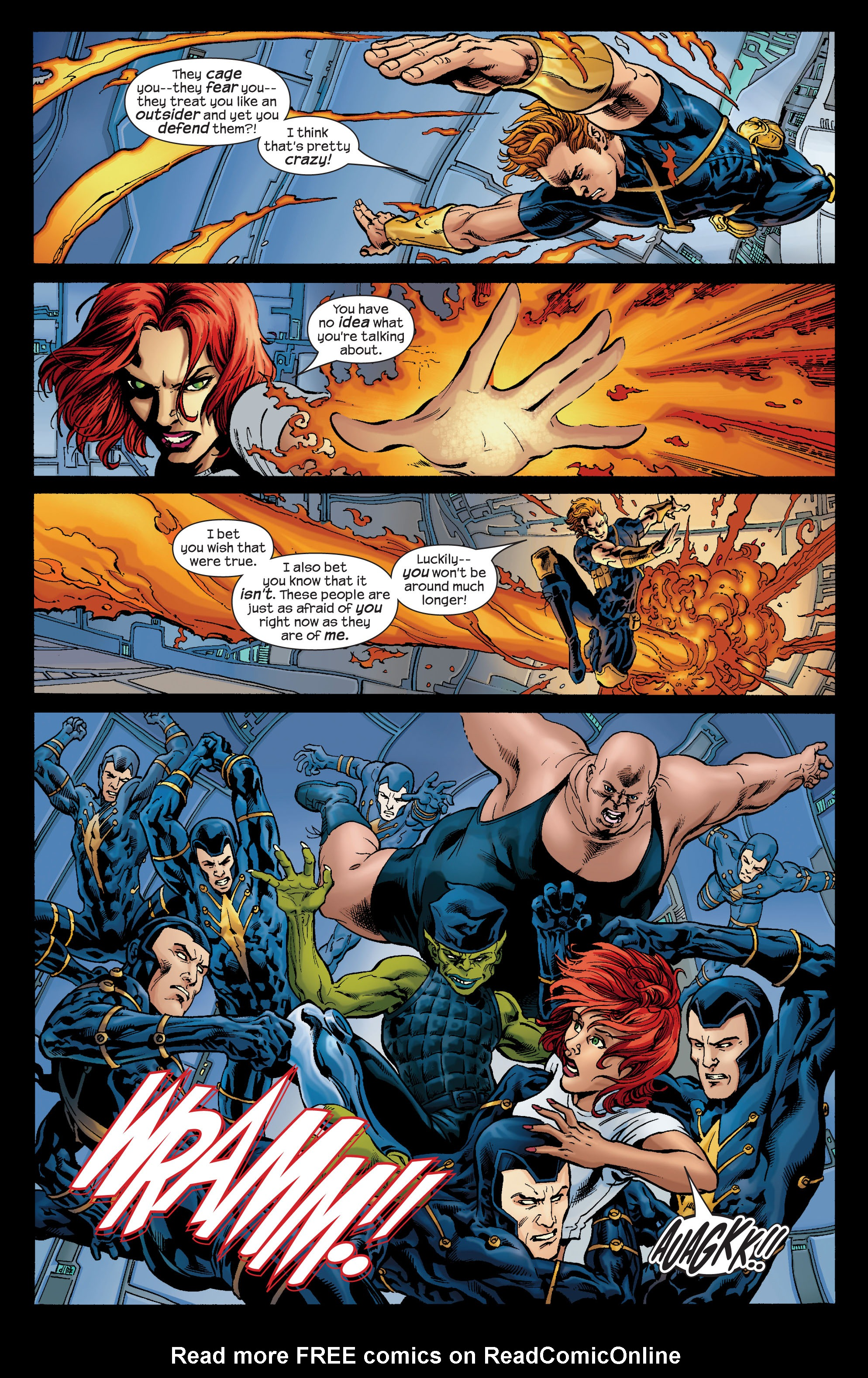 Read online Ultimate X-Men comic -  Issue #74 - 4
