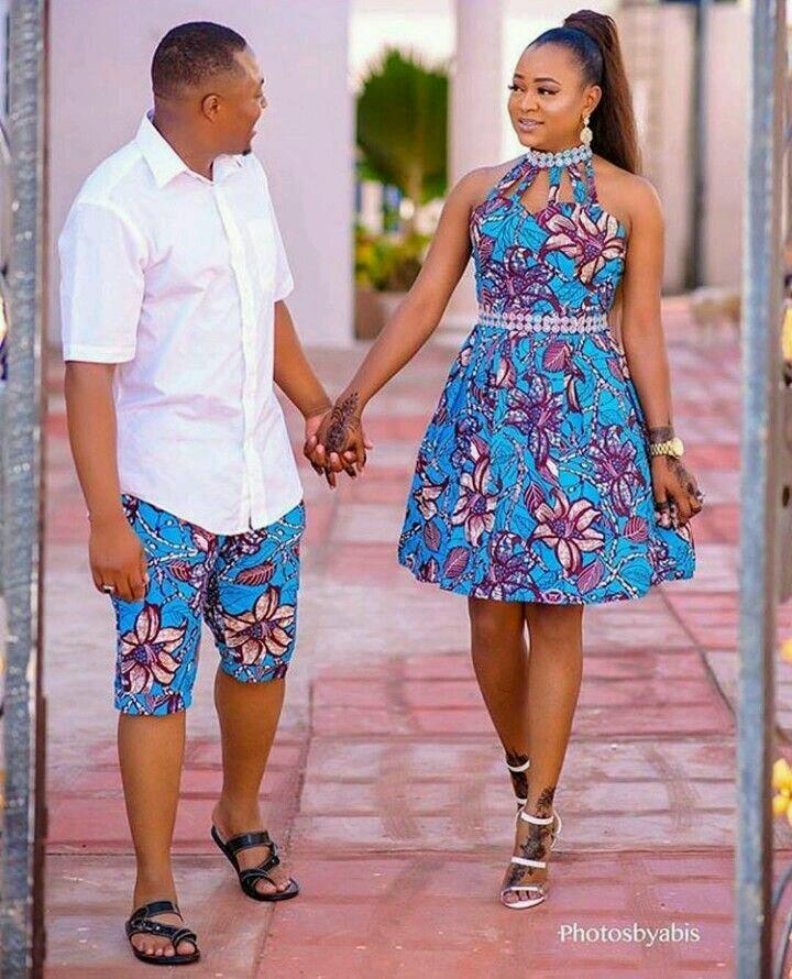 Trendy Ankara Latest Fashion Styles For Couples