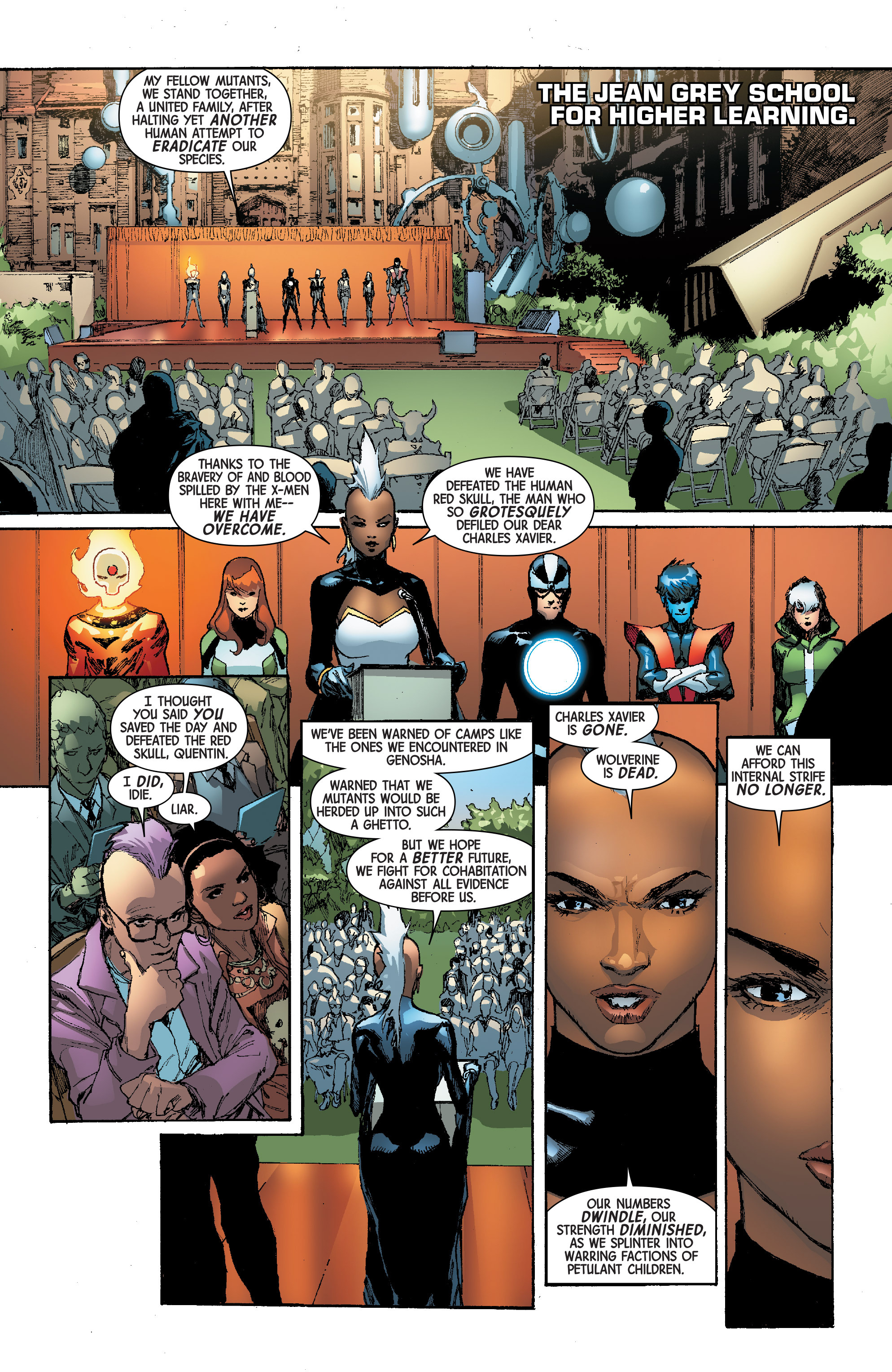 Read online Avengers & X-Men: AXIS comic -  Issue #4 - 16