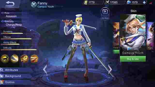 Cara dan Tips Menggunakan Hero Fanny Mobile Legend