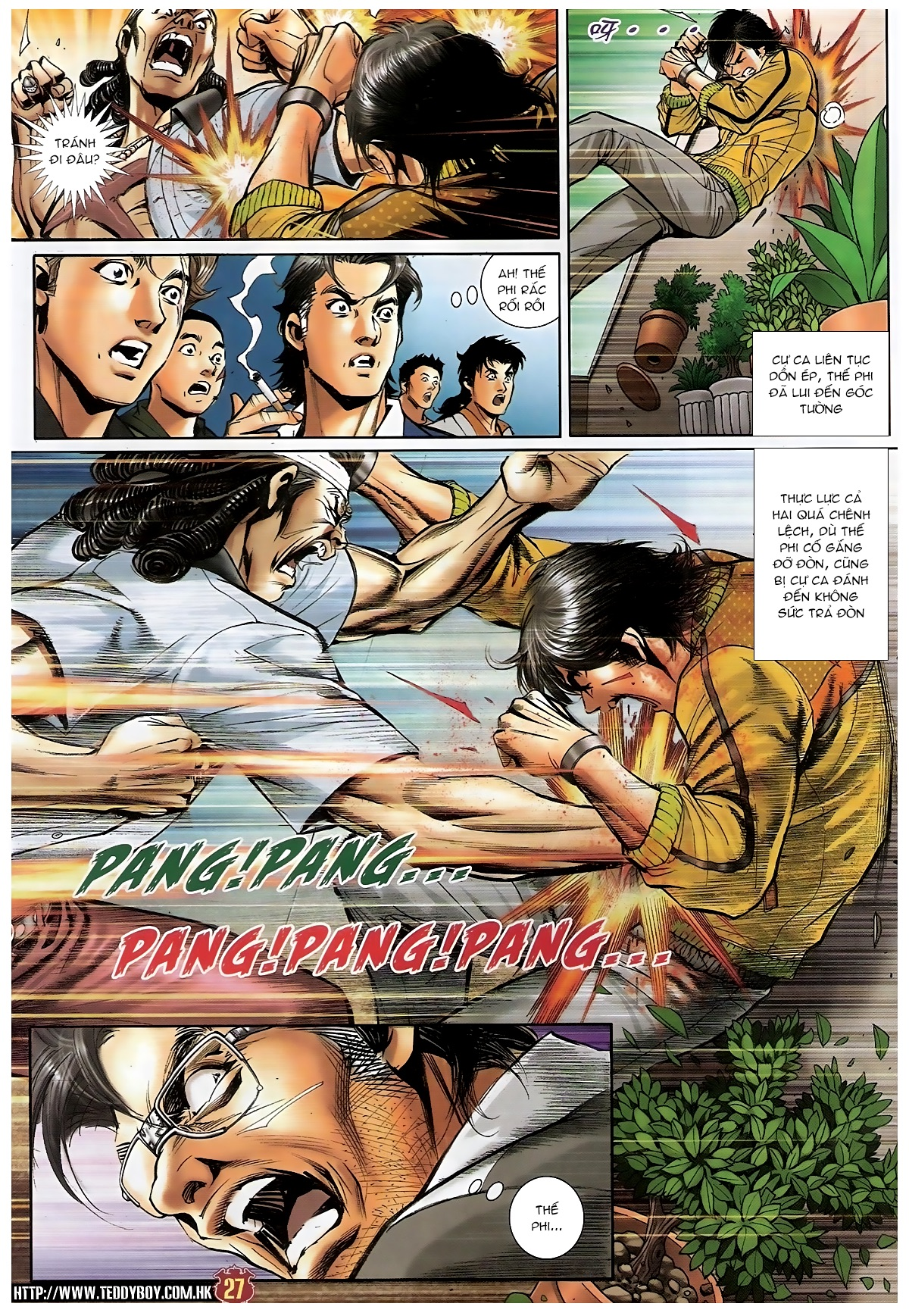 Người Trong Giang Hồ - Chapter 1552: Long Uy - Pic 25