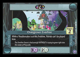 My Little Pony Overgrown Everfree The Crystal Games CCG Card