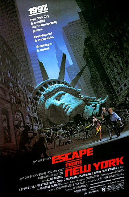 Escape from New York 1981 movie poster John Carpenter