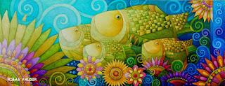 картина бразильского художника Родригеса