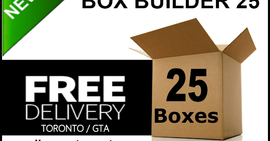 Save over 50% on Moving Boxes and Moving Supplies Toronto / GTA