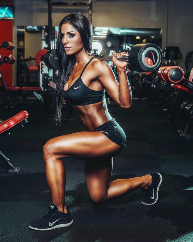 Fitness Model Maria Paulette