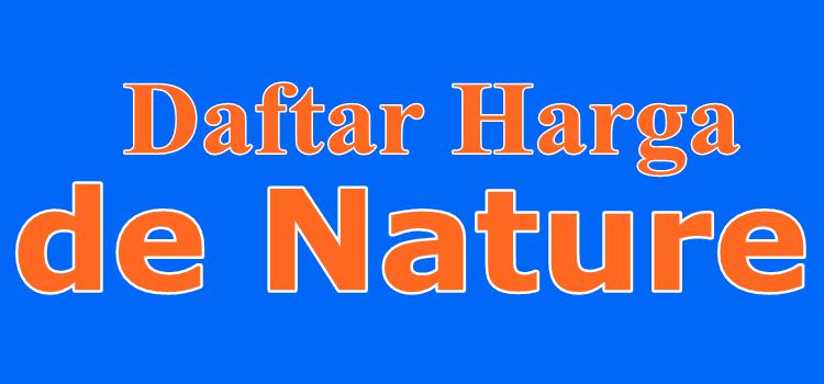 daftar haraga obat herbal de nature resmi