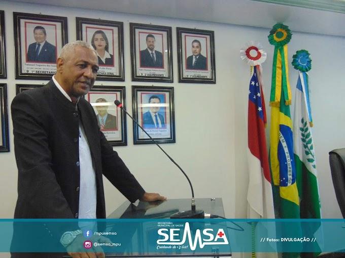 Novo Secretário de saúde de Manacapuru, tomou posse na manhã desta segunda-feira (26)
