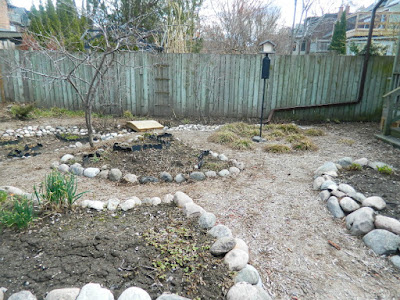 Riverdale Toronto spring garden cleanup after by Paul Jung Gardening Services