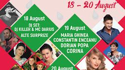 """""""ZILELE ORAŞULUI DĂBULENI """" 18-20 AUGUST 2017"""
