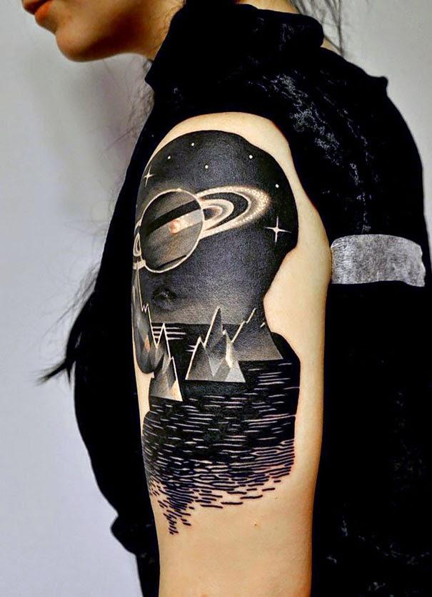 Tatuajes Estilo Cosmicos Tu Tatuaje