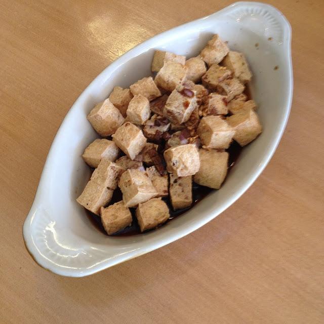 Tofulicious at Chix Savour Restaurant