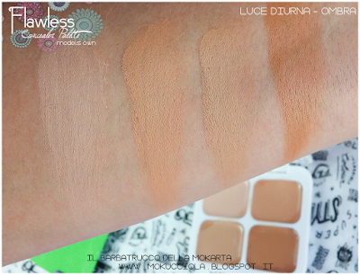 FLAWLESS - Concealer Palette - n 02 Natural