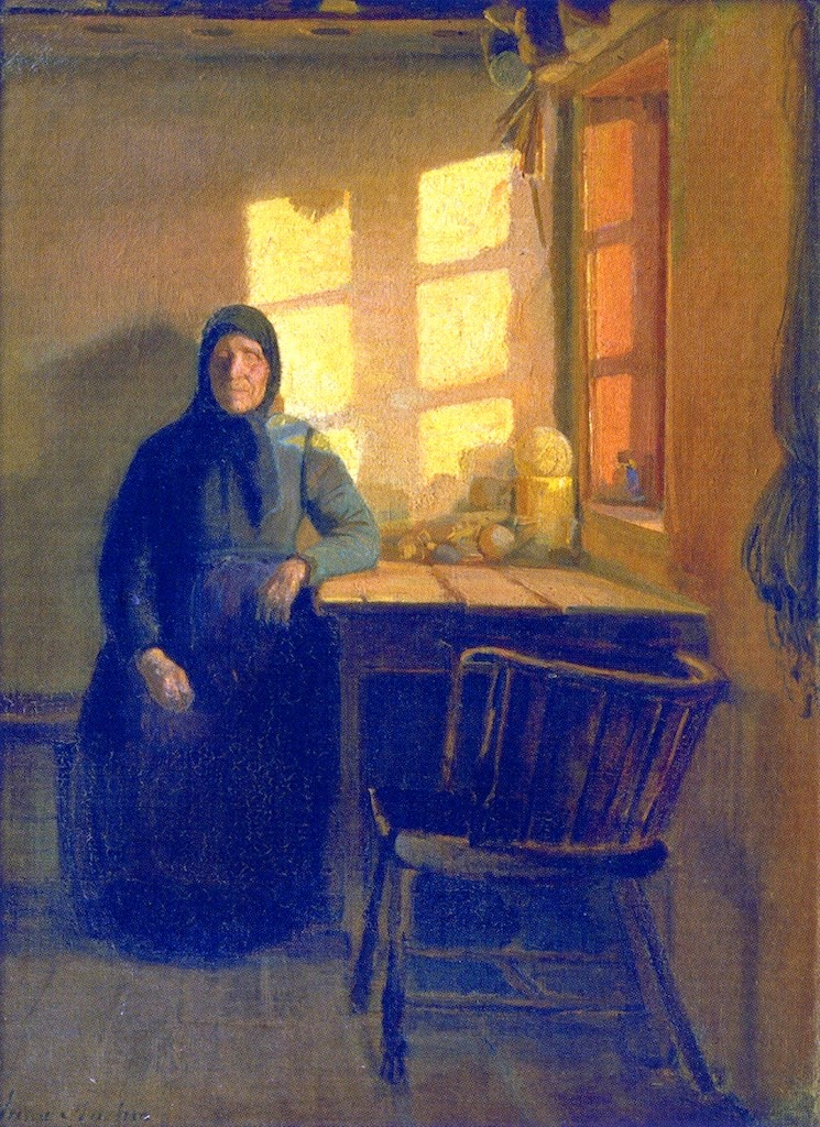Sunshine in The Woman's Room (1885), Anna Ancher