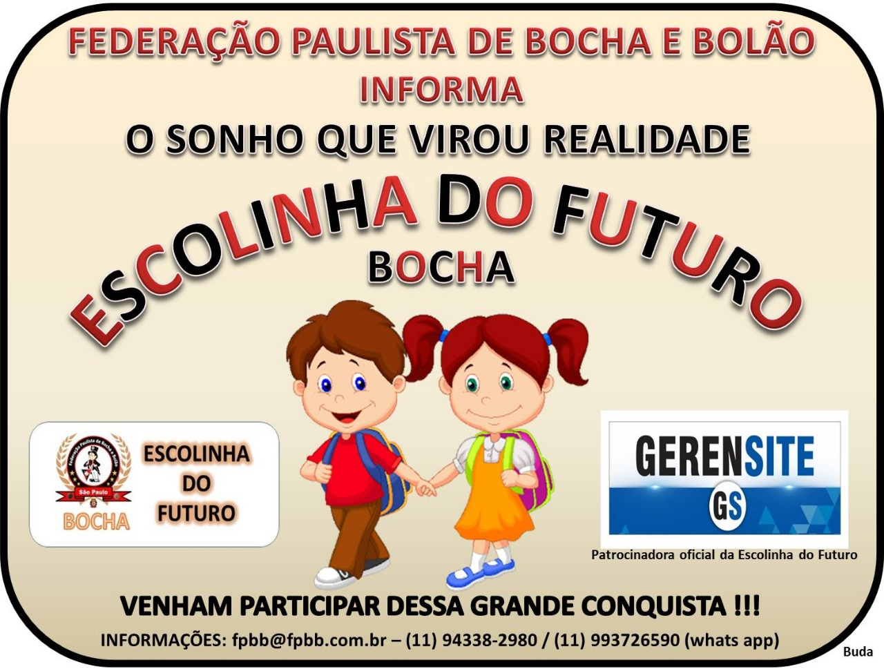 Escolinha do Futuro - BOCHA - FPBB