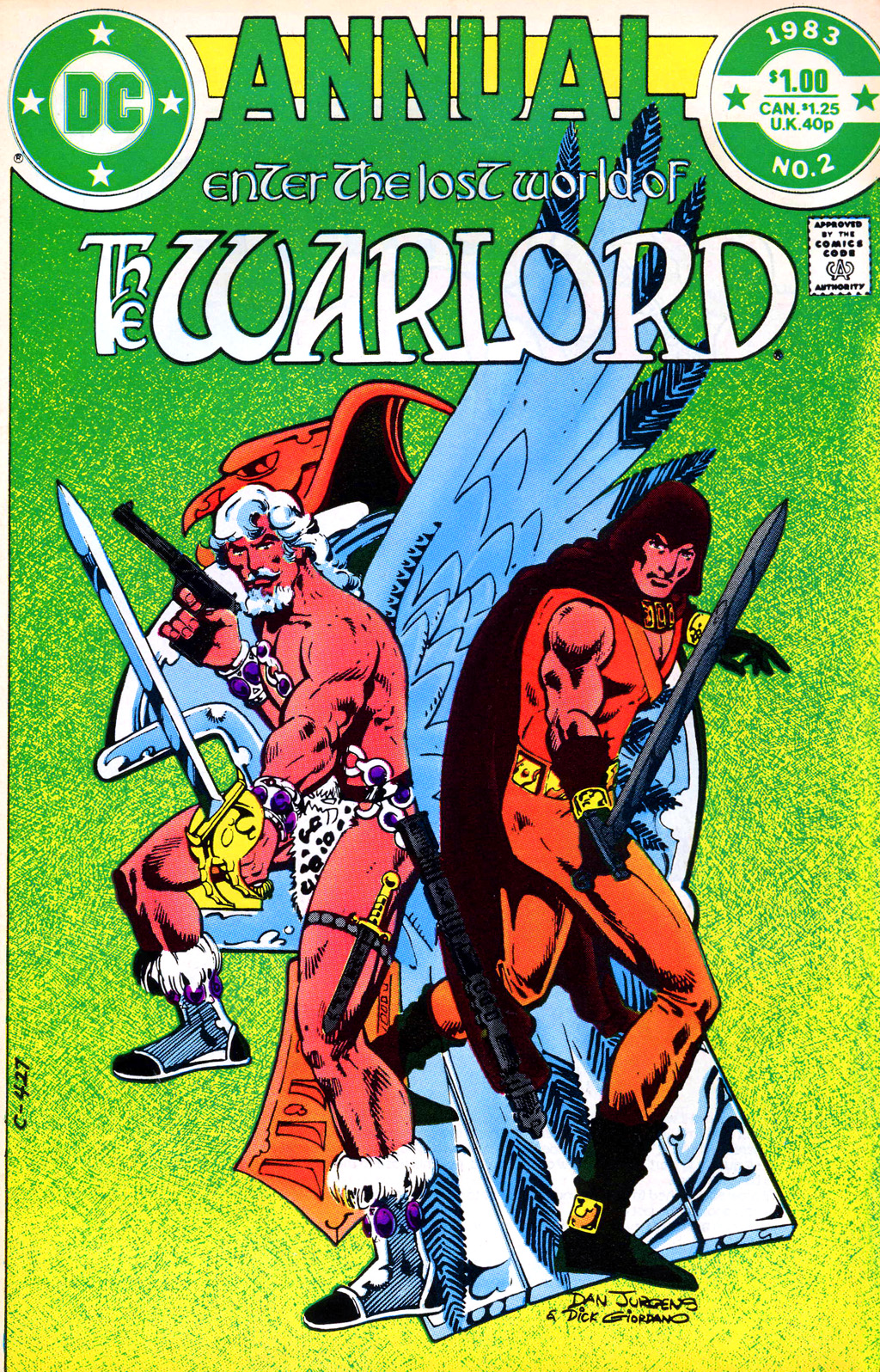 Warlord (1976) _Annual_2 Page 1