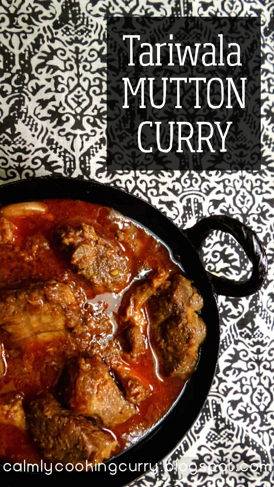 curry, easy, goat, gravy, Indian, lamb, Mutton, pushpesh pant, Recipe, simple, stew, tari, tariwala, tariwala mutton, venison,
