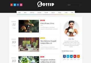 gossip blogger teması