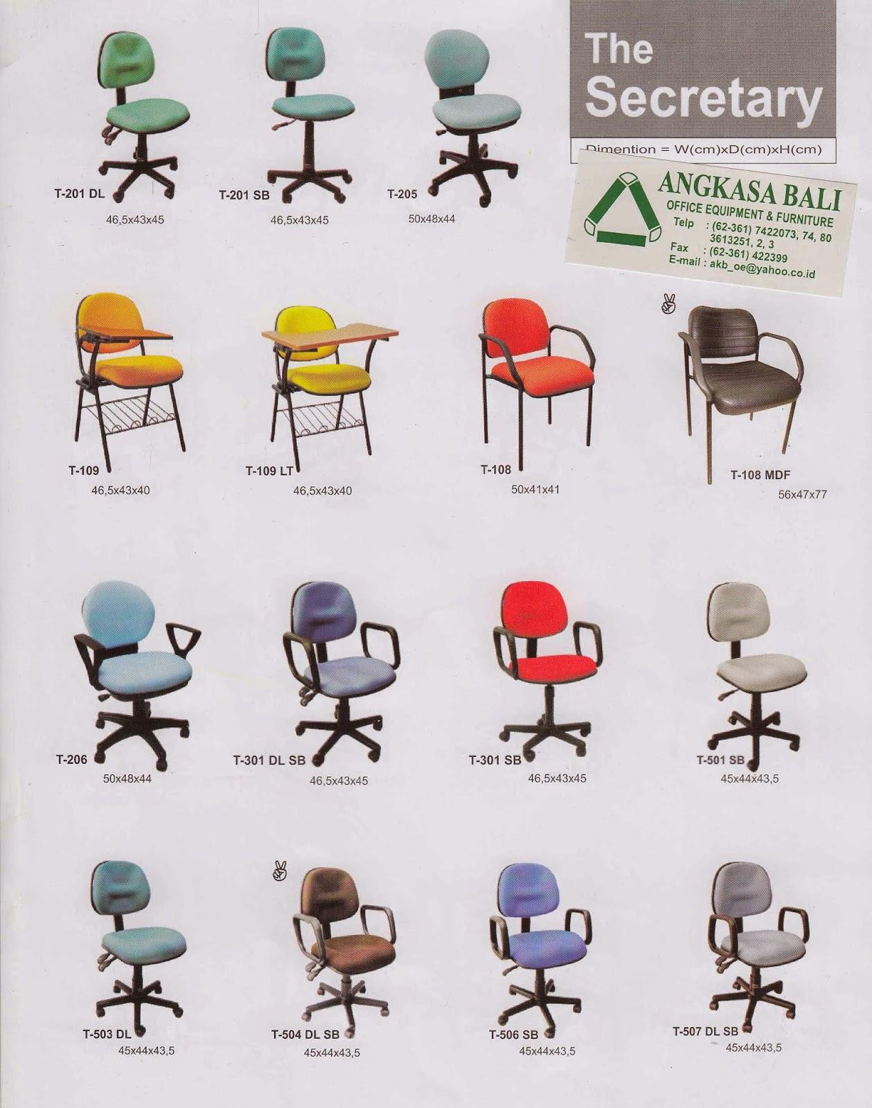 jual kursi kantor di bali jual kursi staff di bali