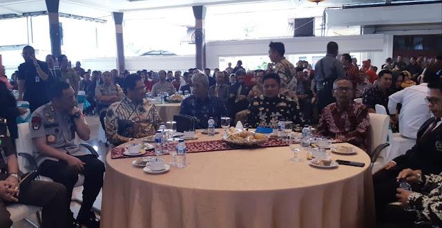 Bupati OKI bersama Wartawan di Palembang