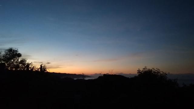 sunset di bukit kosakora