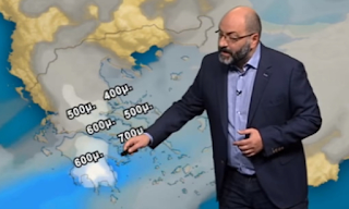 ΚΑΙΡΟΣ: Ο Σάκης Αρναούτογλου προειδοποιεί για τις επόμενες ώρες