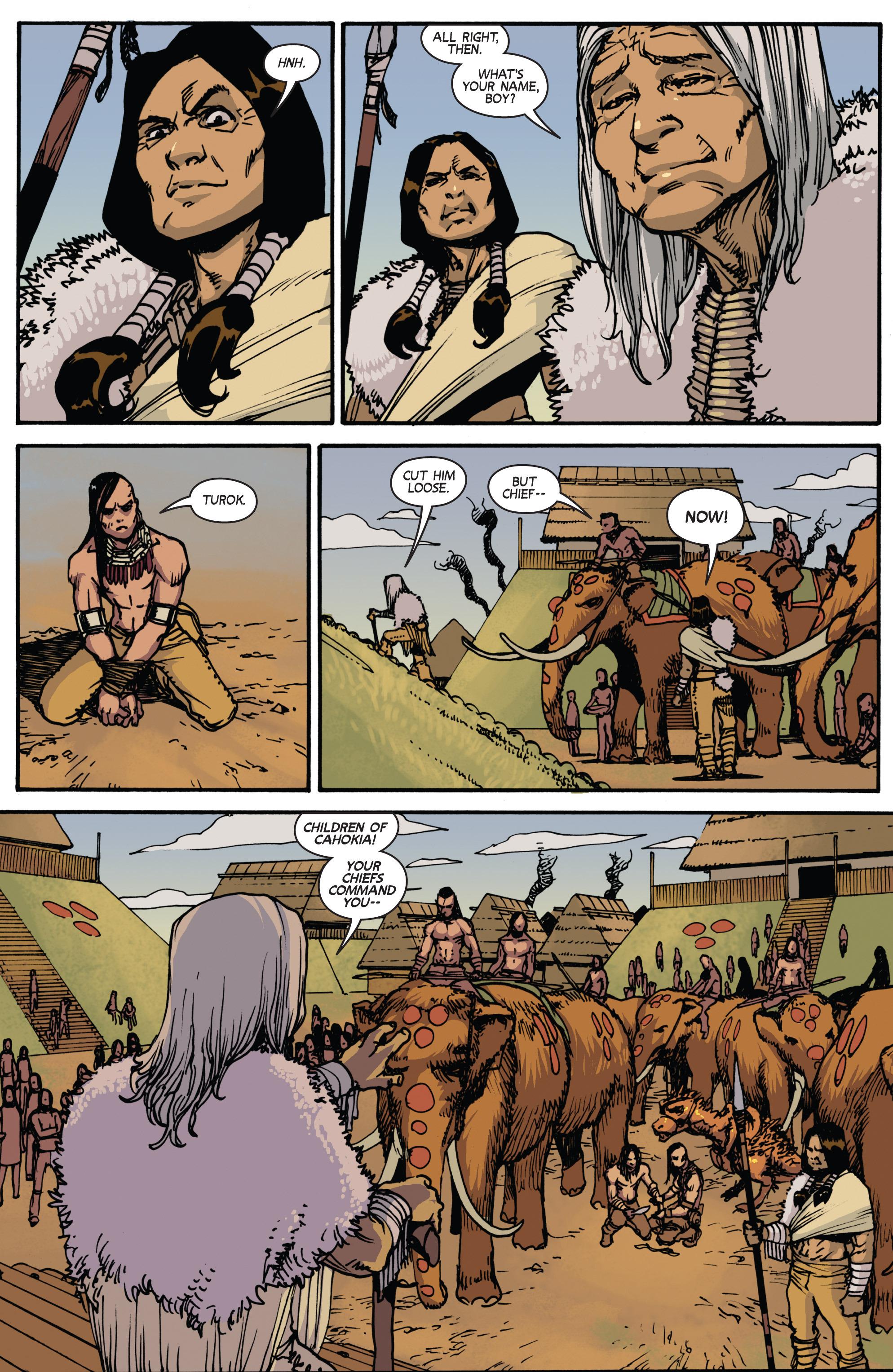Read online Turok: Dinosaur Hunter (2014) comic -  Issue # _TPB 2 - 30