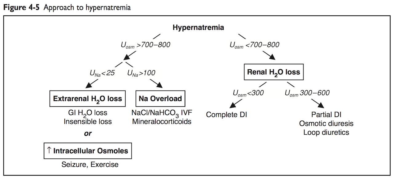 [鈉與鉀]之7: 高血鈉 - 起手式 and 初步D/D - Dr.尤瑞卡