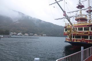 Montaña y parte de barco donde montamos