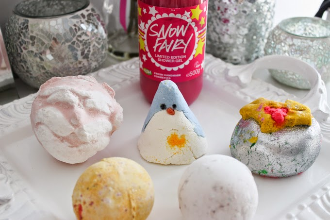 Christmas With Lush | Cate Renée
