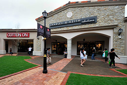 JPO Charles and Keith Factory Outlet Store