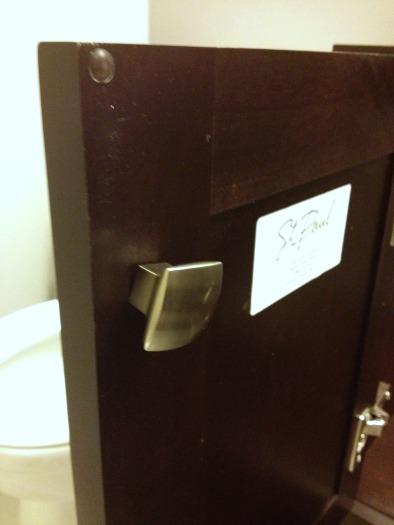 bathroom handles